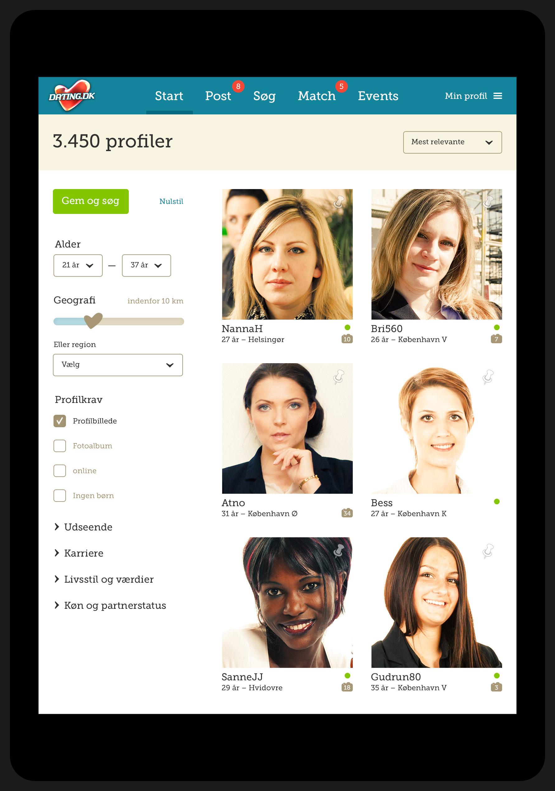 Kontakt dating.dk sonar dating app